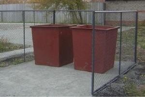 мусорка контейнер ТБО